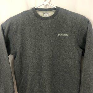 Columbia Men's Sweatshirt Heather Gray Super Soft!